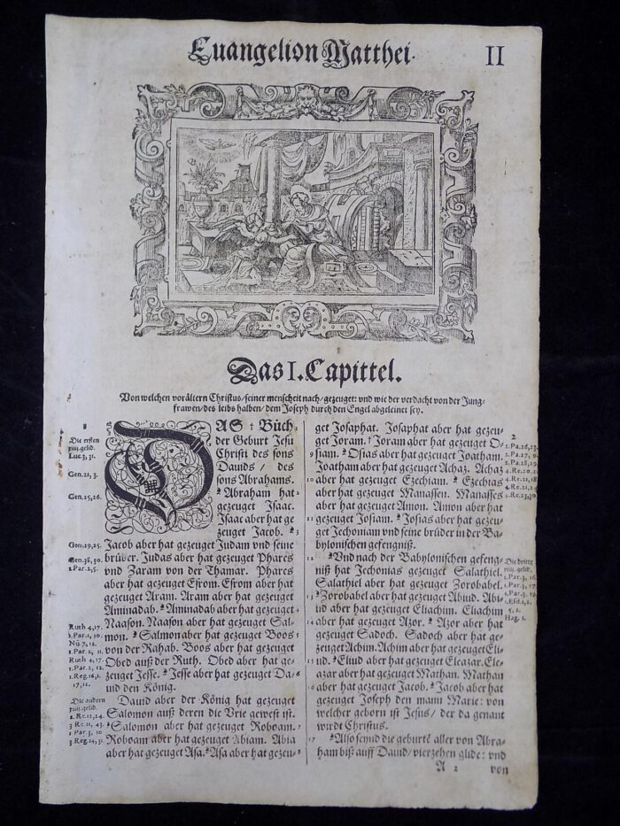 1607 GERMAN N.T. TITLE PAGES